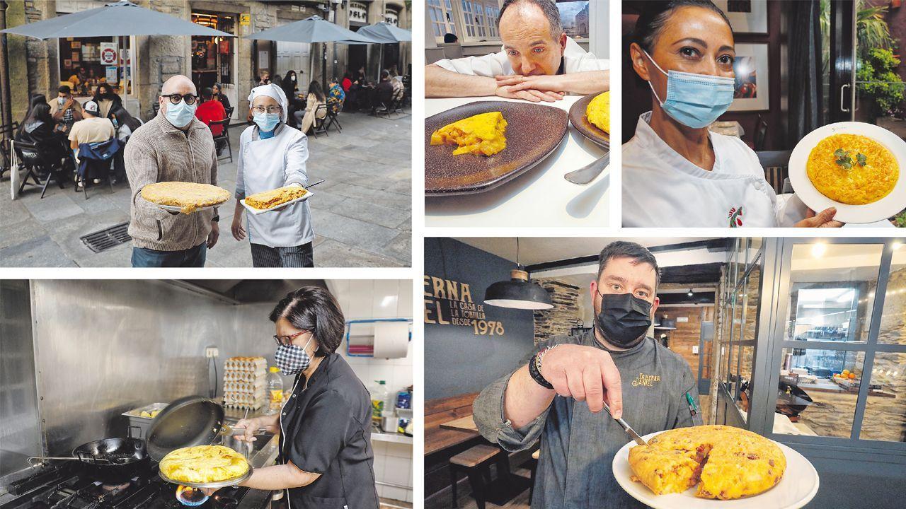 El restaurante Loliña cierra sus puertas.La huerta del CIFP Calos Oroza de Pontevedra, en una imagen de archivo