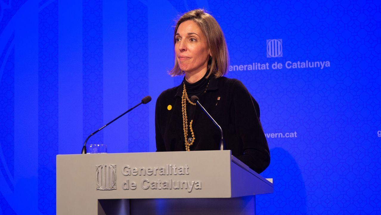 Elisenda Paluzie, presidenta de la Asamblea Nacional Catalana (ANC)