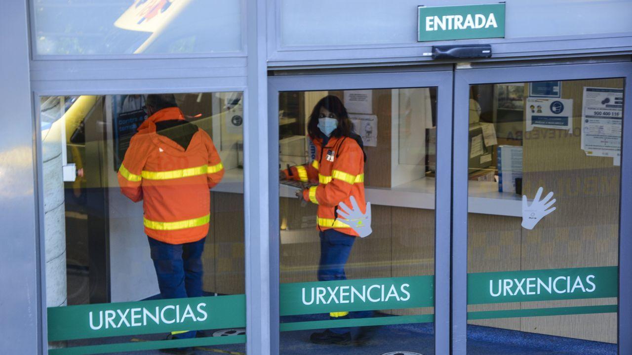 Área de urgencias del Hospital Montecelo