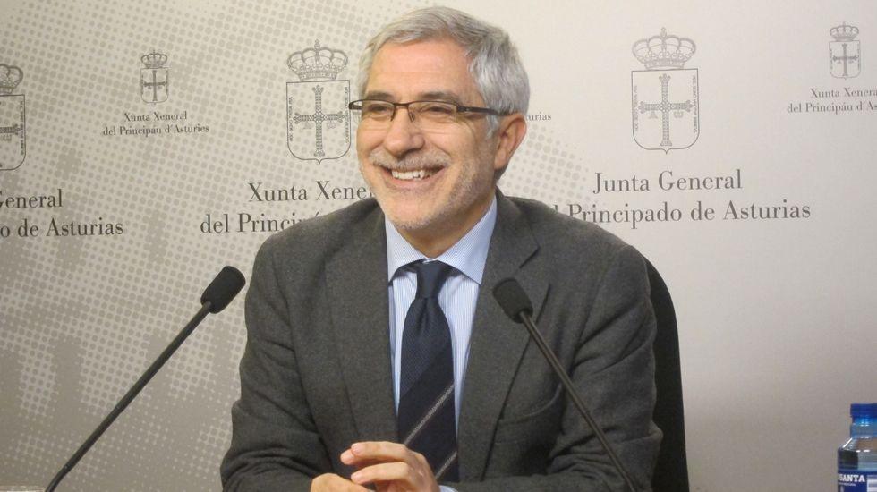 Llamazares.Antonio Maíllo, junto a Alberto Garzón