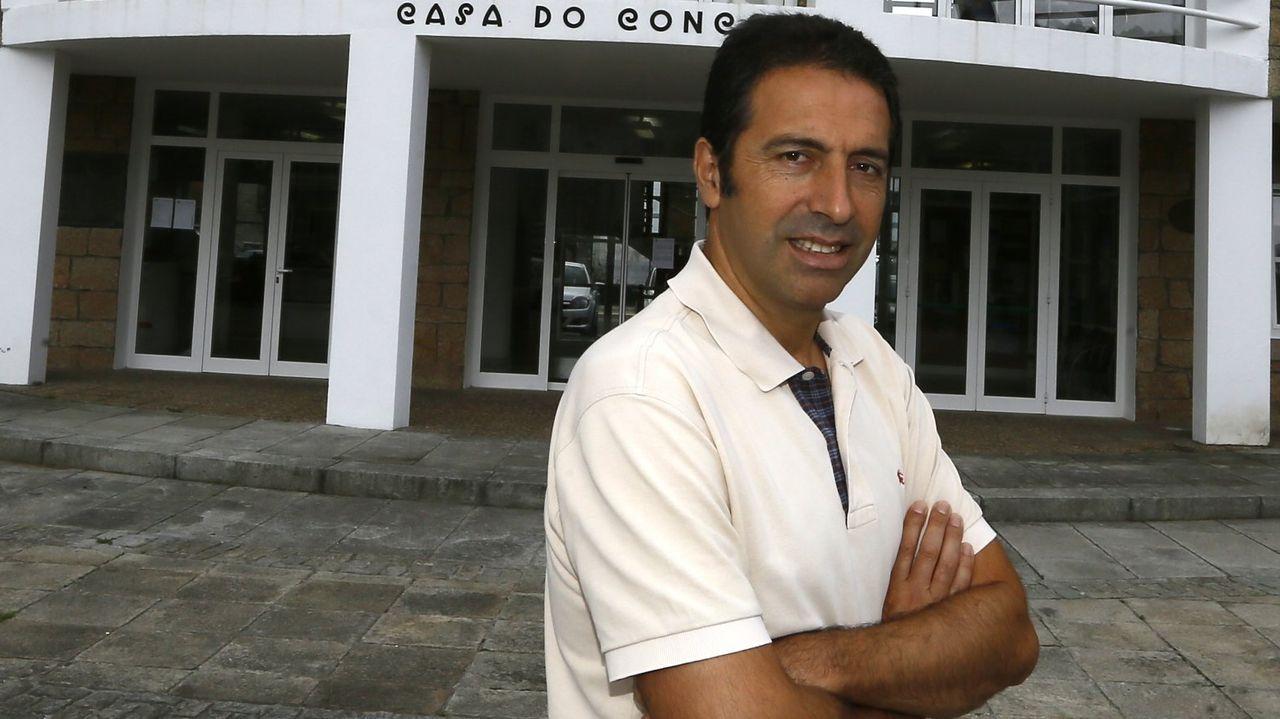 Alfonso Villares, alcalde de Cervo