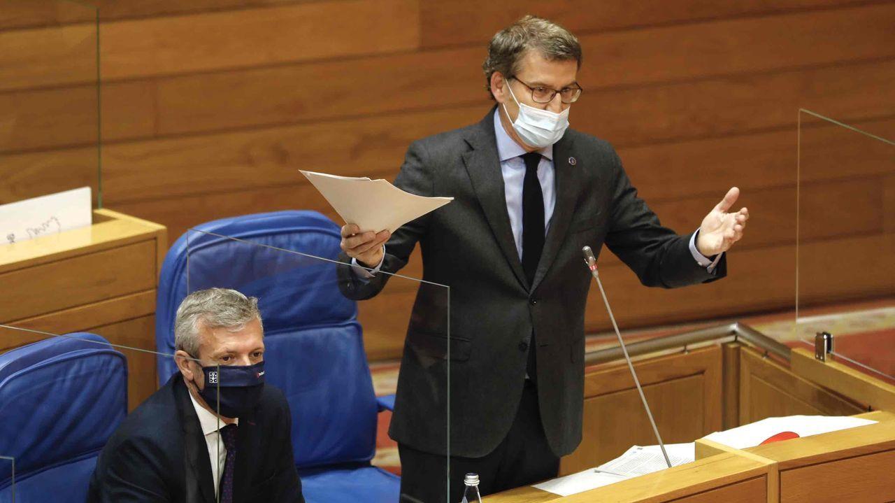 Declaran Aznar y Rajoy como testigos en el caso del presunto pago con la caja B del PP de las obras en Génova.Aznar, durante su comparecencia por videoconferencia en el juicio por la caja B del PP