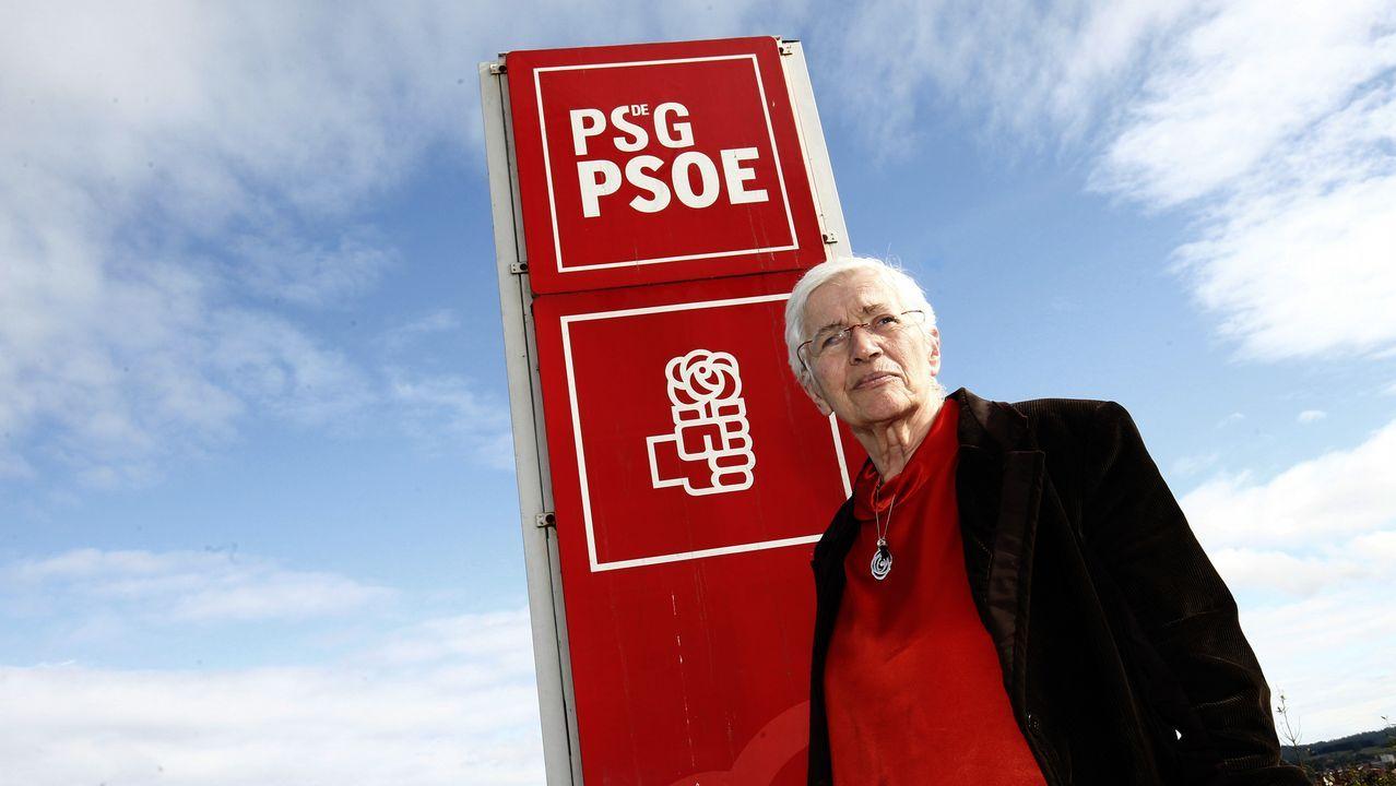Julie Fernández, diputada socialista en Bélgica.José Enrique Serrano