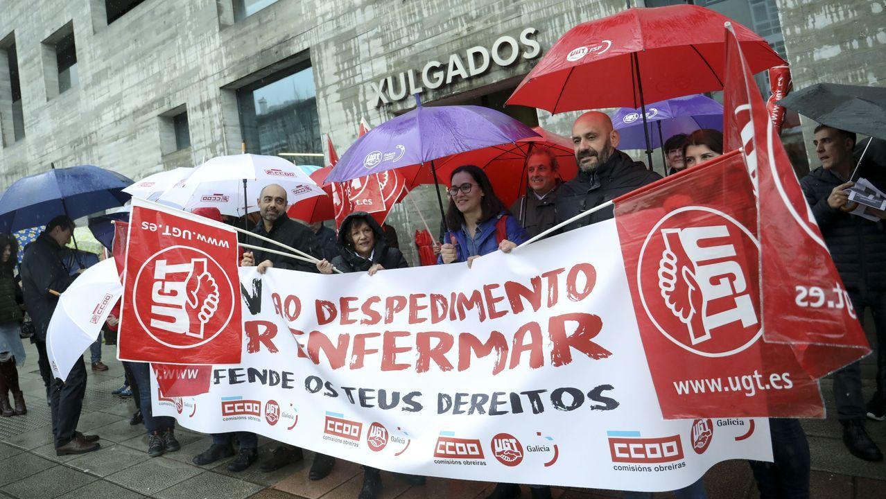 Imagen de archivo de la huelga comarcal del 2013, en demanda de medidas similares