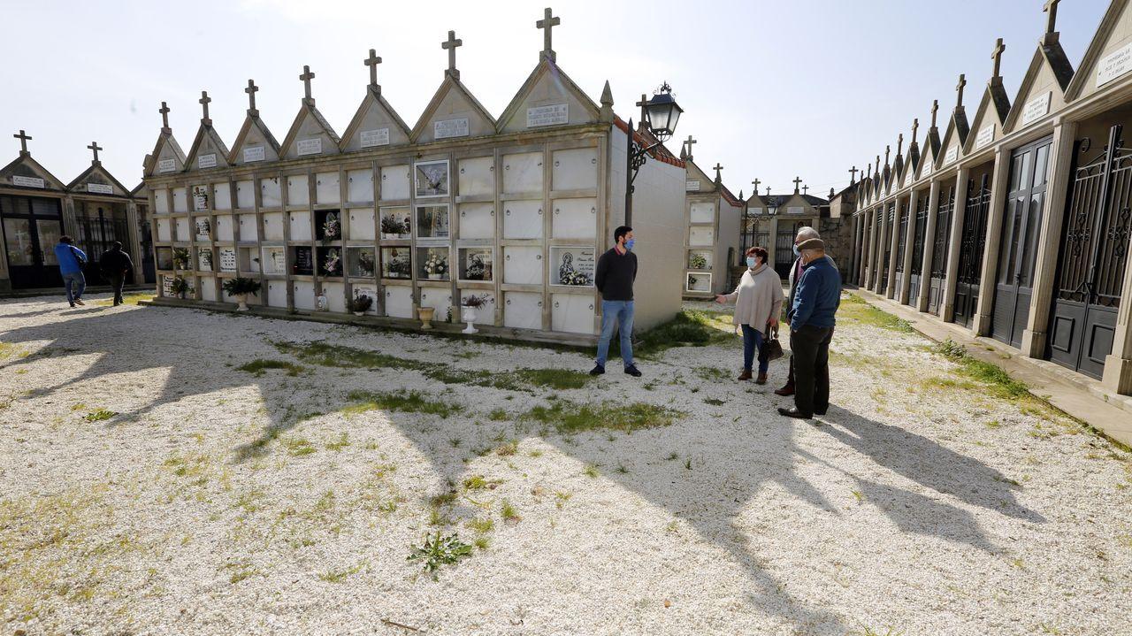 La iglesia de San Pedro, en las inmediaciones de la aldea de Esperante
