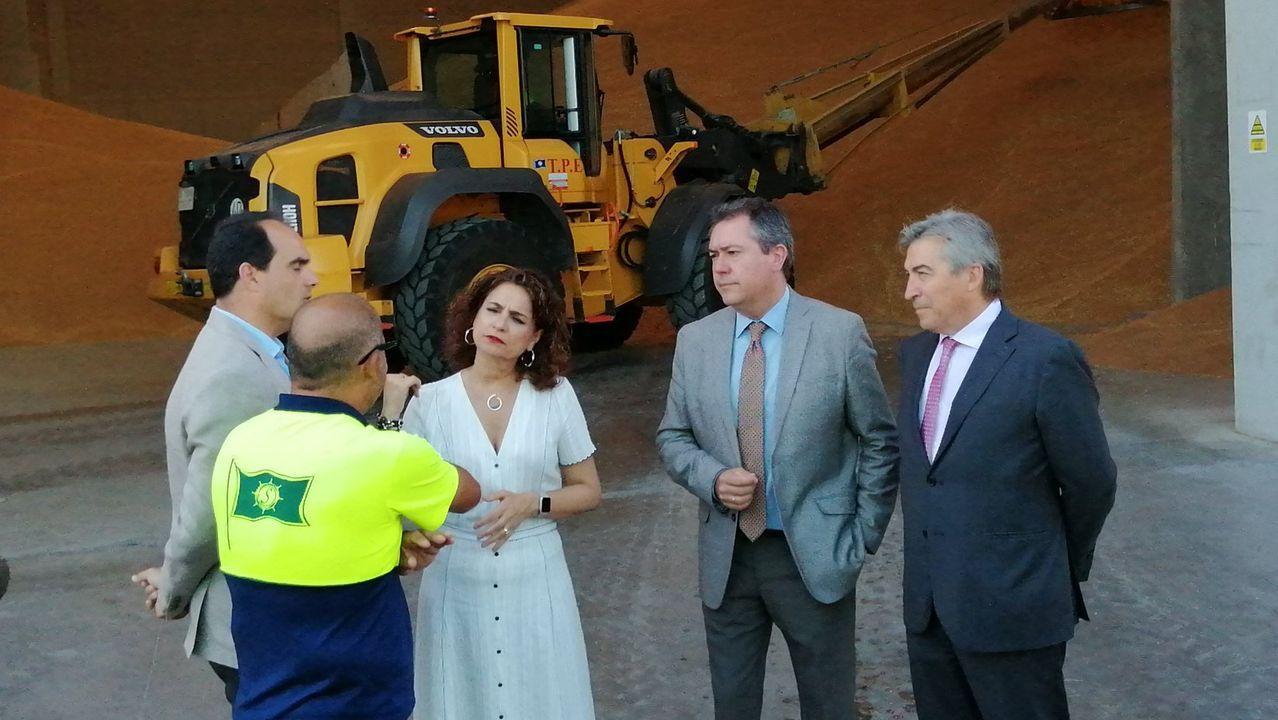 Mensajes institucional del Día de Asturias.La ministra de Hacienda, el miércoles en un acto en Sevilla