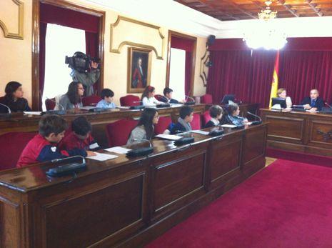 Encuentro escolar en Lugo