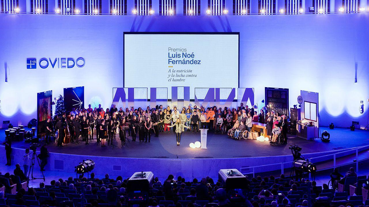 Acto de entrega de los Premios Fundación  Luis Noé Fernñandez 2019