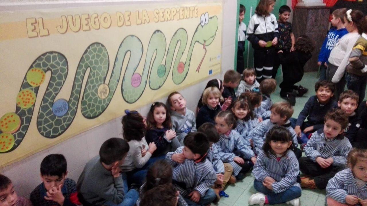 Club de ciencia del colegio de Mosteiro