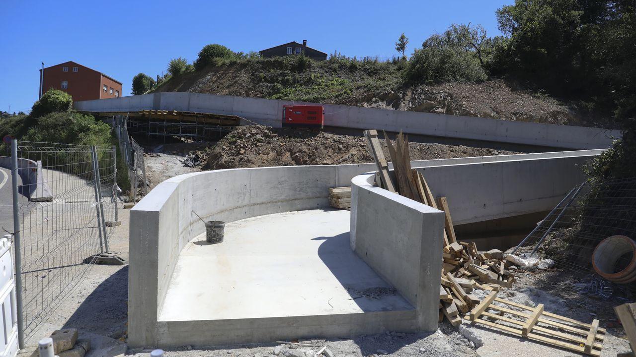 Entorno de las obras de los túneles de la Variente de Pajares
