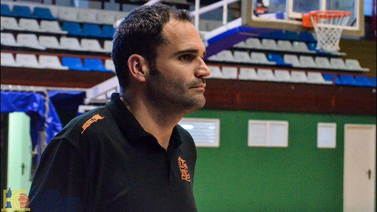 Ángel Hernández, excapitán del Leyma Coruña