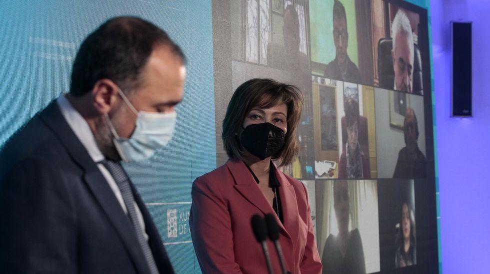 Inmaculada Ramos, na sua presentación como directora do hospital o pasado 19 de febreiro