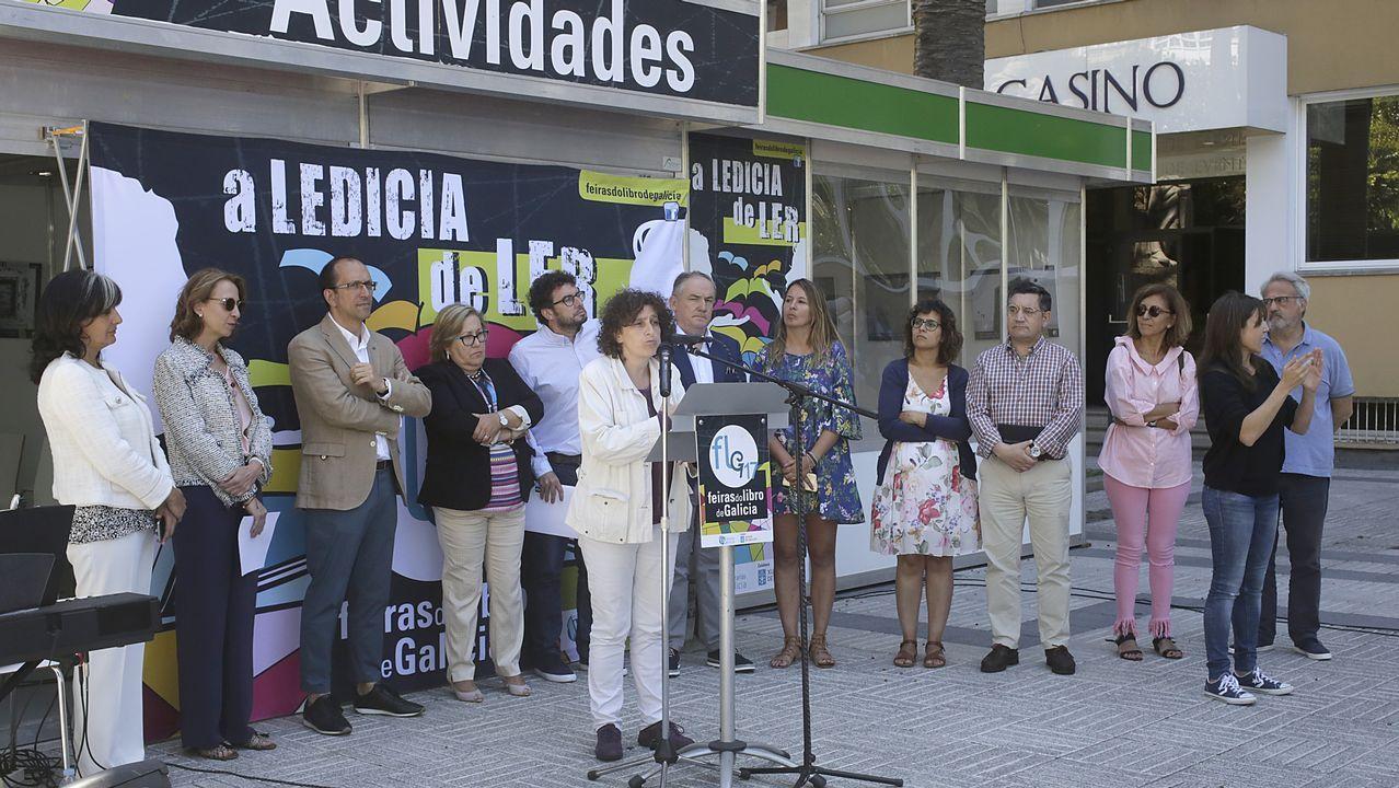 Inauguración de la Feria del Libro