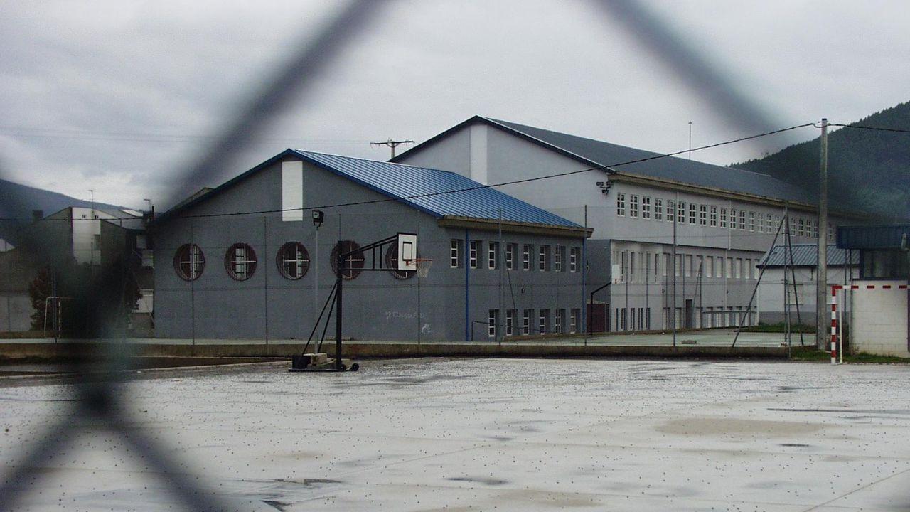 Patio del colegio de Quiroga, en una imagen de archivo