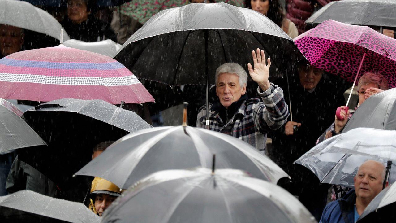 Manifestación de jubilados en Bilbao