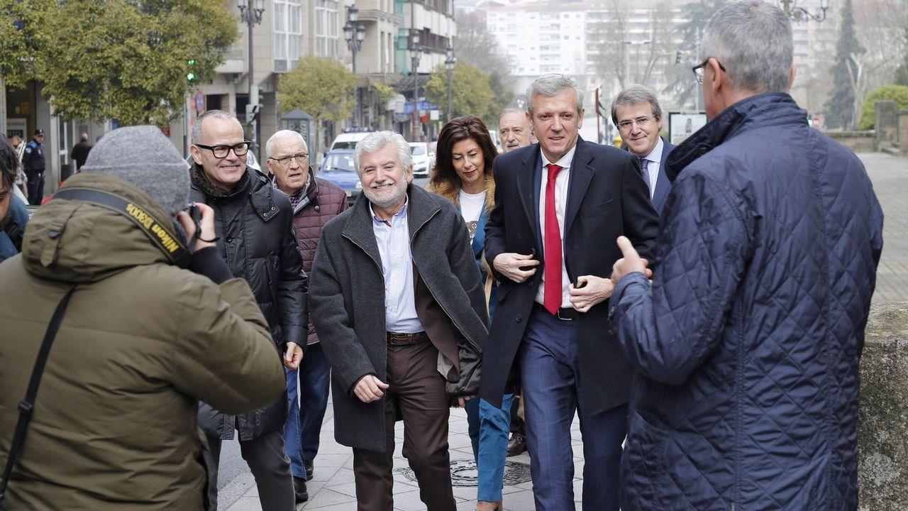 Alfonso Rueda visitó Ourense en el estreno de la nueva sede de la Policía Autonómica