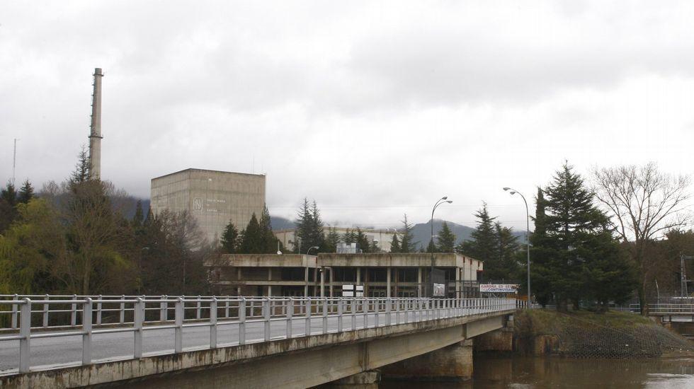 La central nuclear de Santa María de Garoña