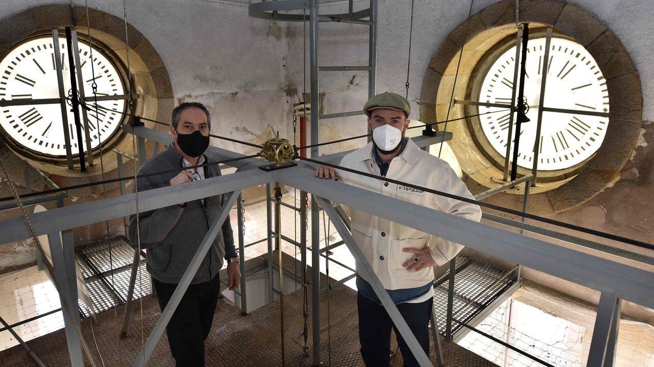 Reparan el reloj de María Pita, que llevaba dos años sin dar las campanadas.Unidad de rehabilitación poscovid del Hospital de Oza (Chuac) de A Coruña