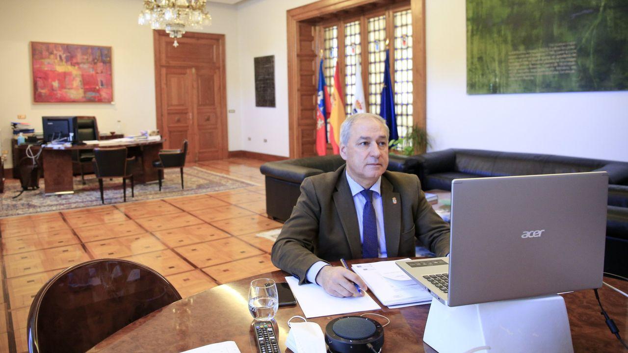 José Tomé, presidente de la Diputación de Lugo