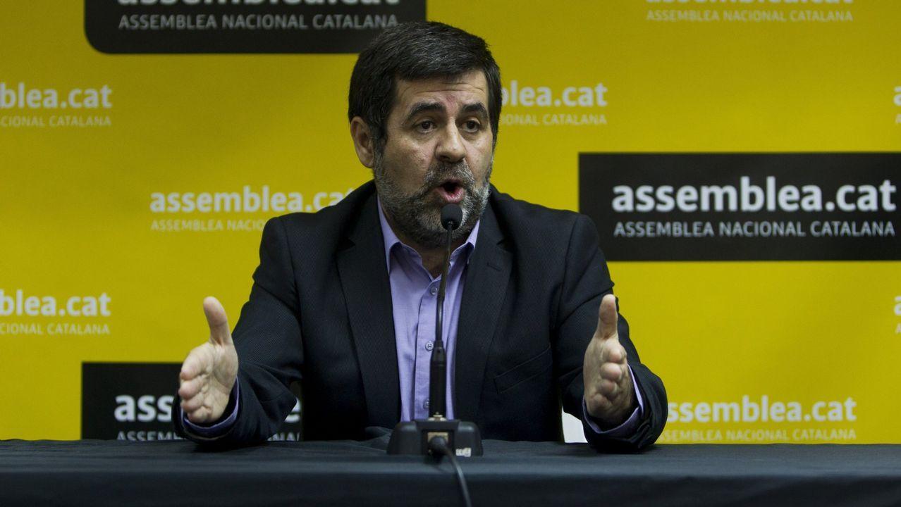 Jordi Sànchez. Presidente de la Assemblea Nacional Catalana, impulsora del secesionismo