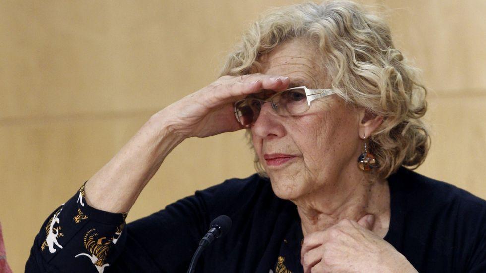 La trayectoria política de Esperanza Aguirre, en fotos.Guillermo Zapata, de Ganemos