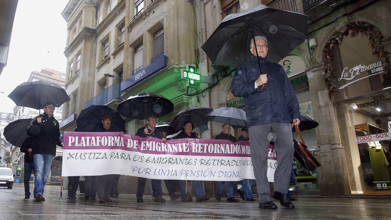 De izquierda a derecha, Marta Rivera, Santiago Pérez, Estefanía Domínguez y Juan Carlos García