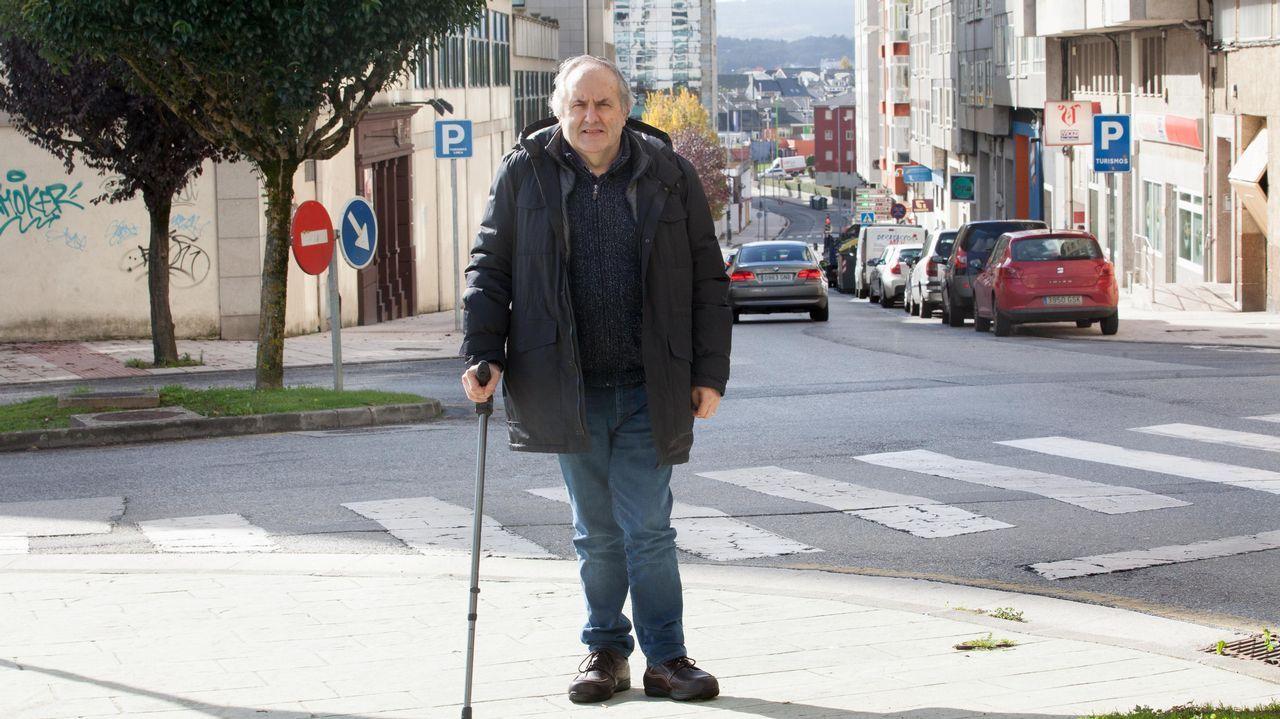 Fernando Toubes dueño de la librería Galicia.Antonio Lozano se recupera de un percance ocurrido hace tres años