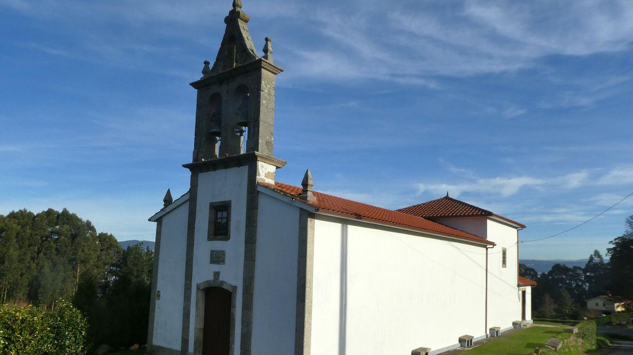 Así es el pazo de Meirás.Iglesia de Santo André