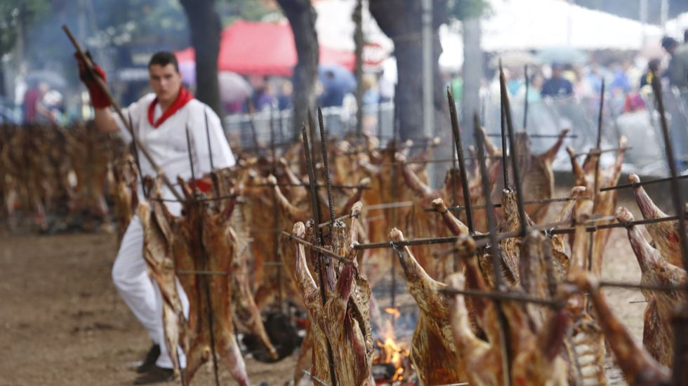 Así es Zicatela.Carlos González durante unha demostración culinaria en Vigo