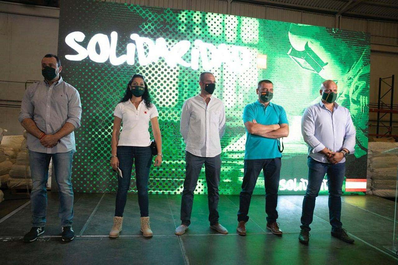Presentación del sindicato Solidaridad, vinculado a Vox