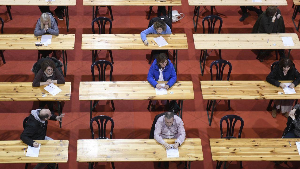 Alumnos de FP del CIFP Someso de A Coruña