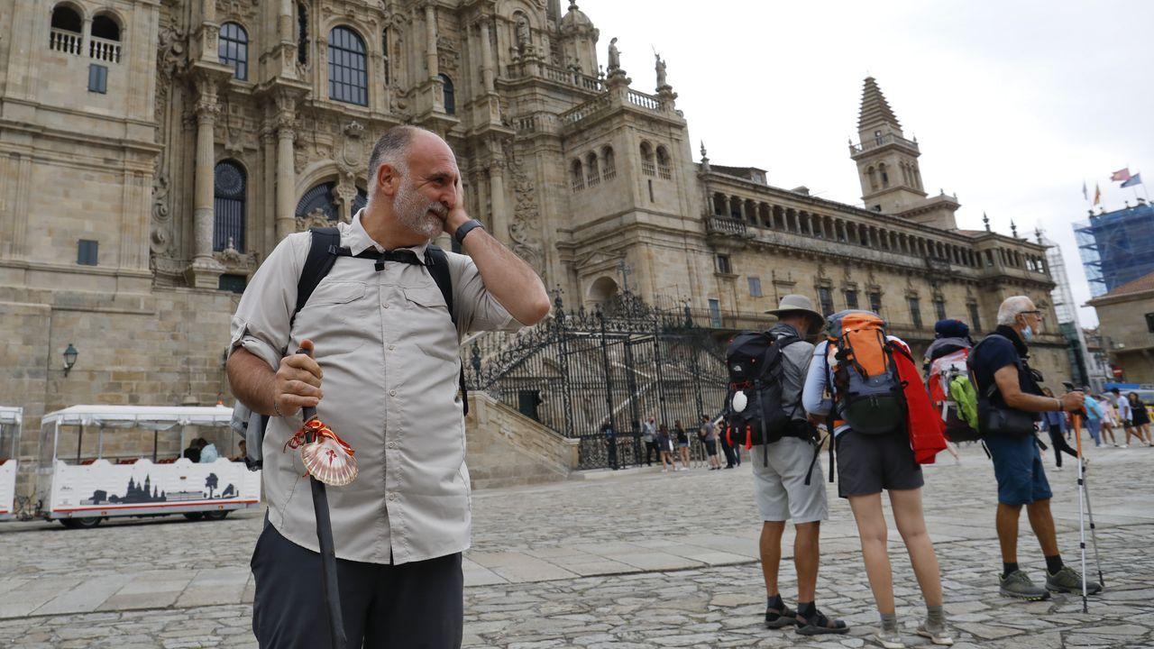 José Andrés llega a Santiago