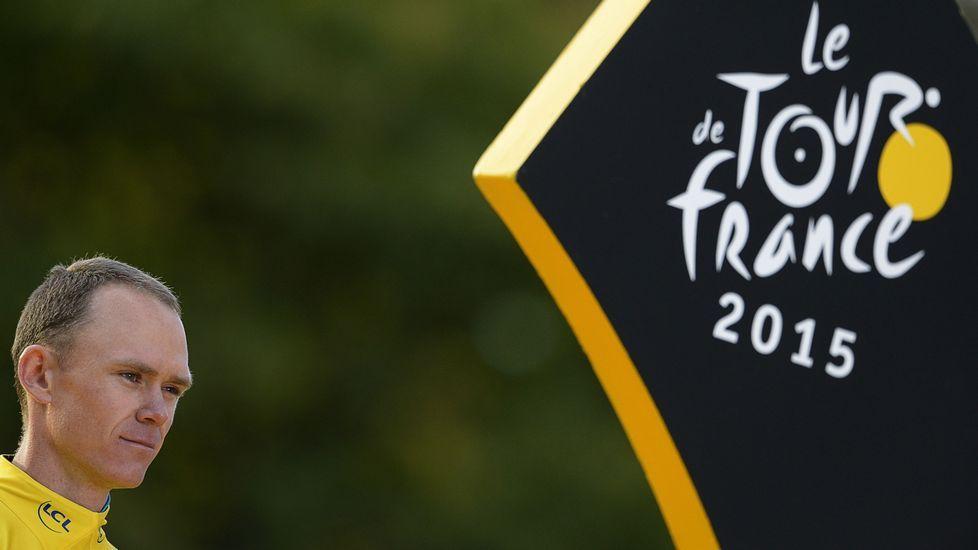 La etapa reina de La Vuelta, en fotos.Froome, durante el pasado Natourcriterium en Bélgica