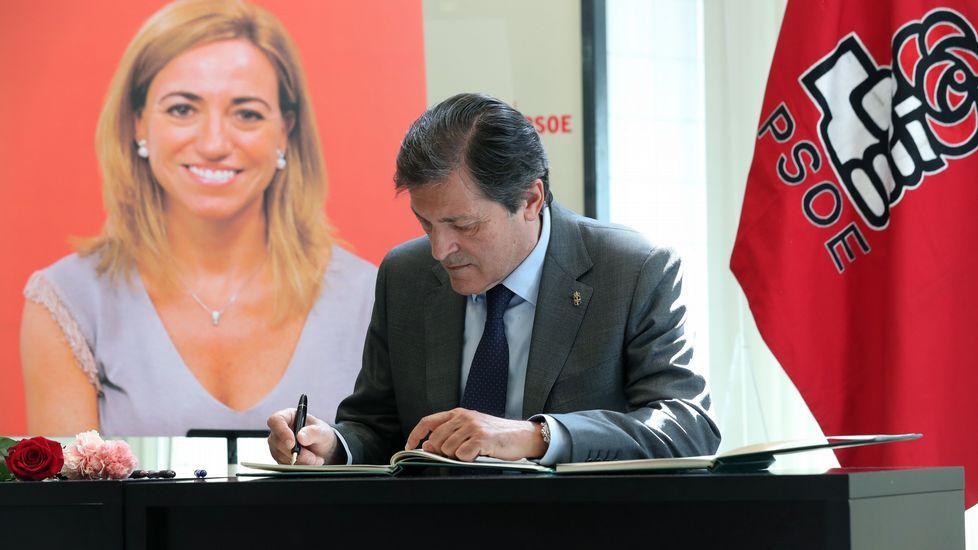 Javier Fernández, en su etapa como presidente de la gestora del PSOE
