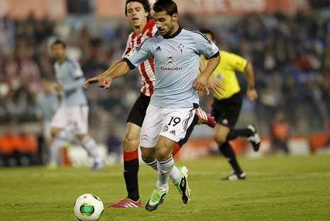 Jonny y Vila no pudieron achicar los últimos balones del Athletic. Los leones tuvieron un partido de lo más cómodo.