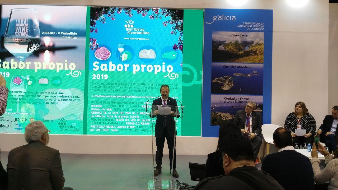 Las comarcas de O Carballiño y O Ribeiro llevaron a Madrid la campaña  Sabor propio