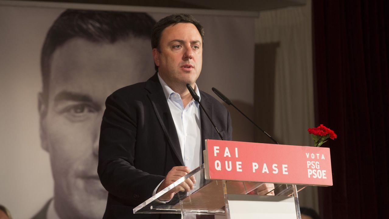 Valentín González Formoso, presidente de la Deputación
