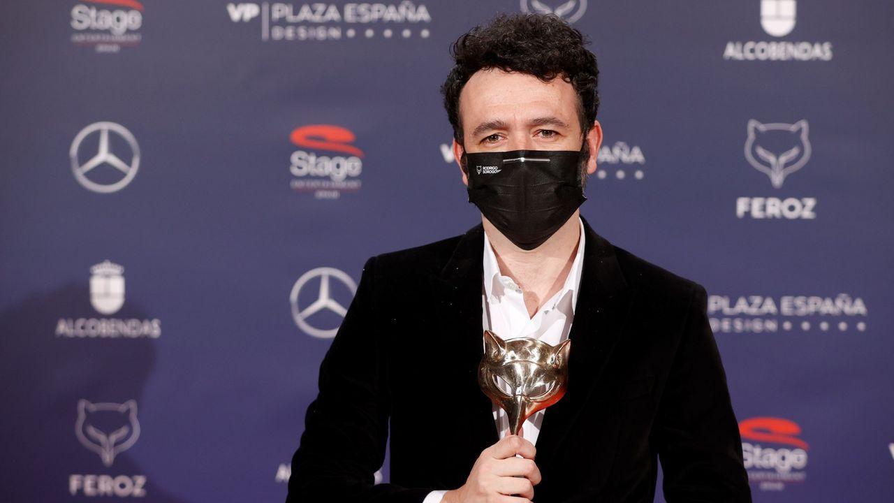 Sorogoyen ganó hace poco un premio Feroz por la serie «Antidisturbios»
