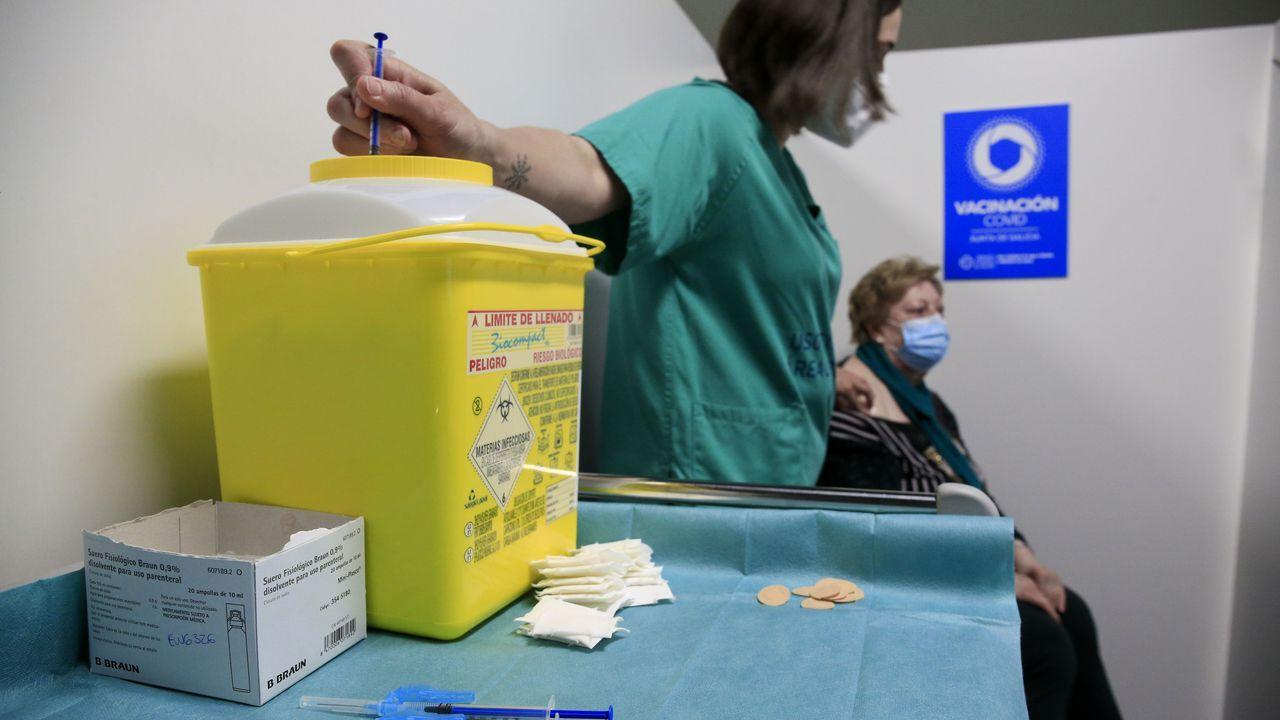 El trabajo del Centro de Atención a Discapacitados de Sarria en imágenes.Continúa la vacunación masiva en el HULA