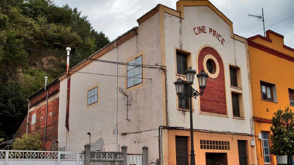 Cine Ayala de Oviedo.Cine Price, en Tudela Veguín