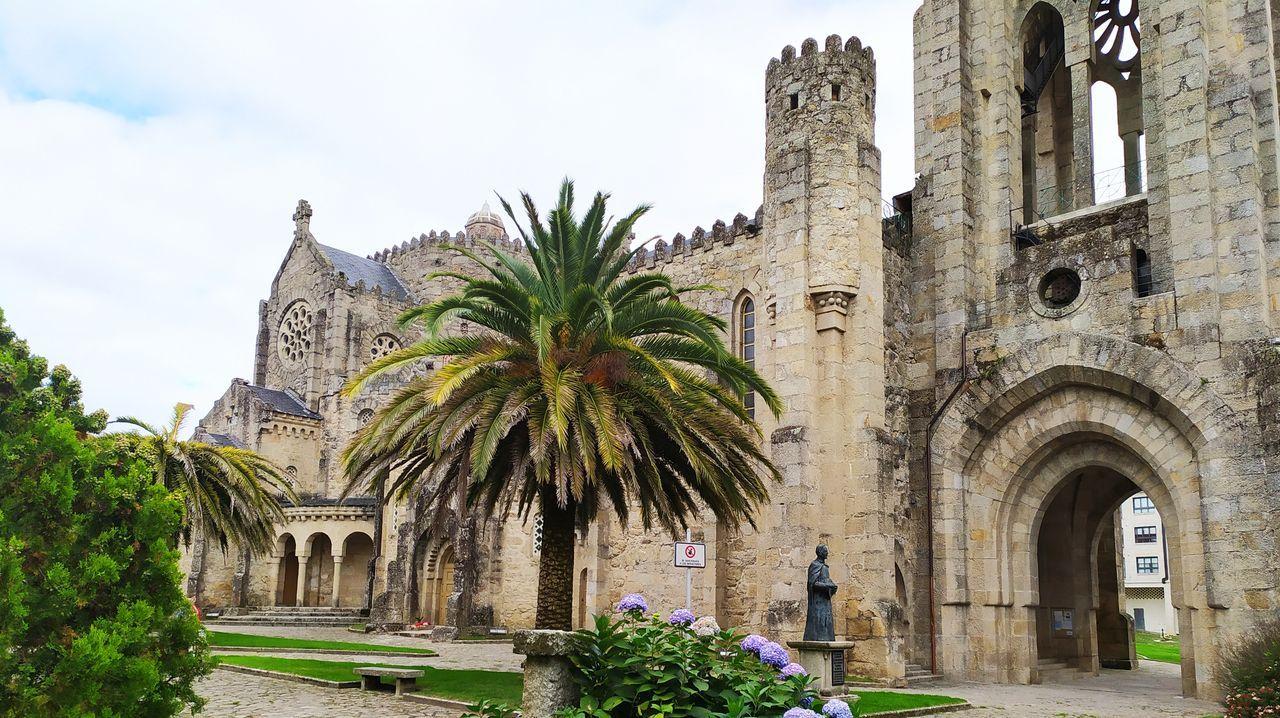 Imaxe do pavillón construído para representar a Galicia en Sevilla en 1929