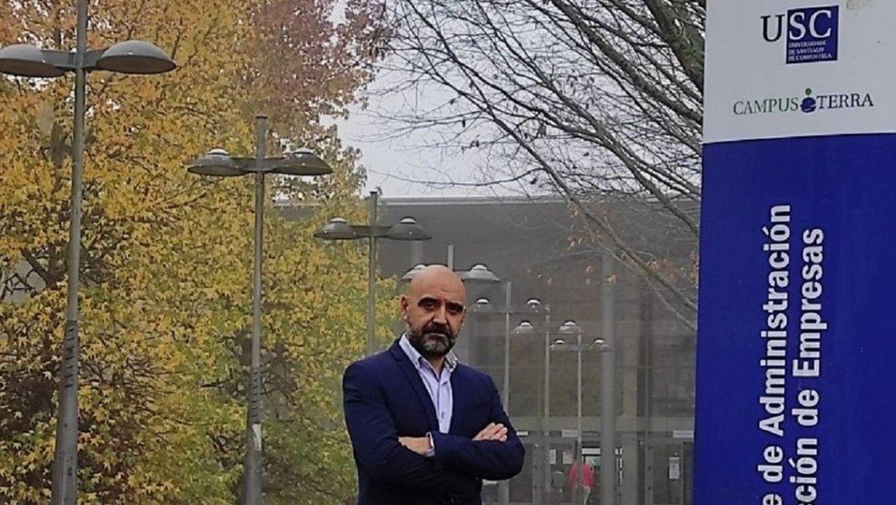 Roberto Bande, nuevo decano de Administración de Empresas