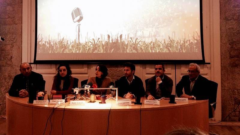 Luz de Casal durante la presentación del Festival de la Luz