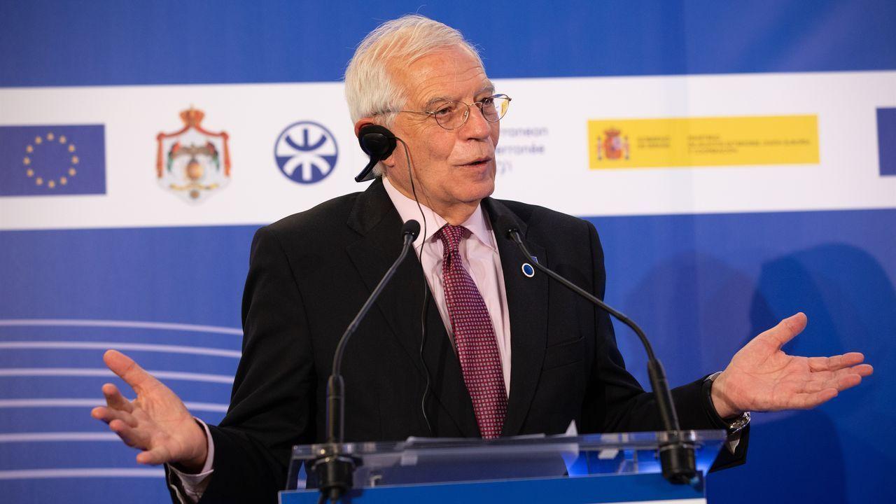 Borrell ha insistido en que el embargo de armas no es competencia europea, sino que se trata de una decisión de cada Estado miembro