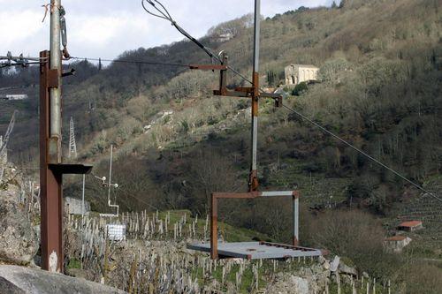 Semillas de hierba para regenerar el monte de Chavaga.Los elevadores de tirolina no serán compatibles con el BIC
