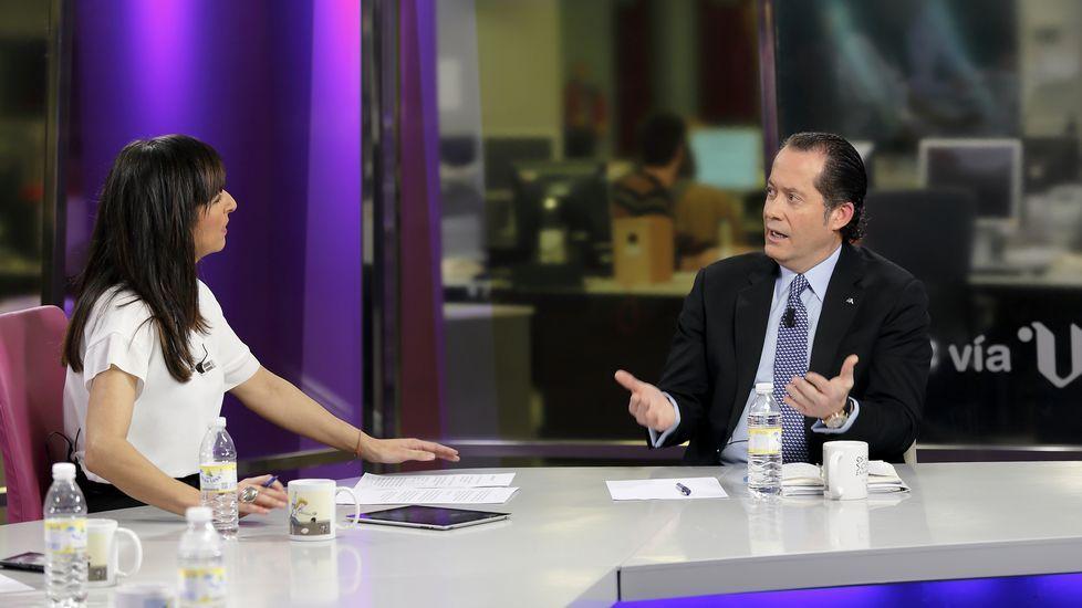 Entrevista a Juan Carlos Escotet en «Vía V»