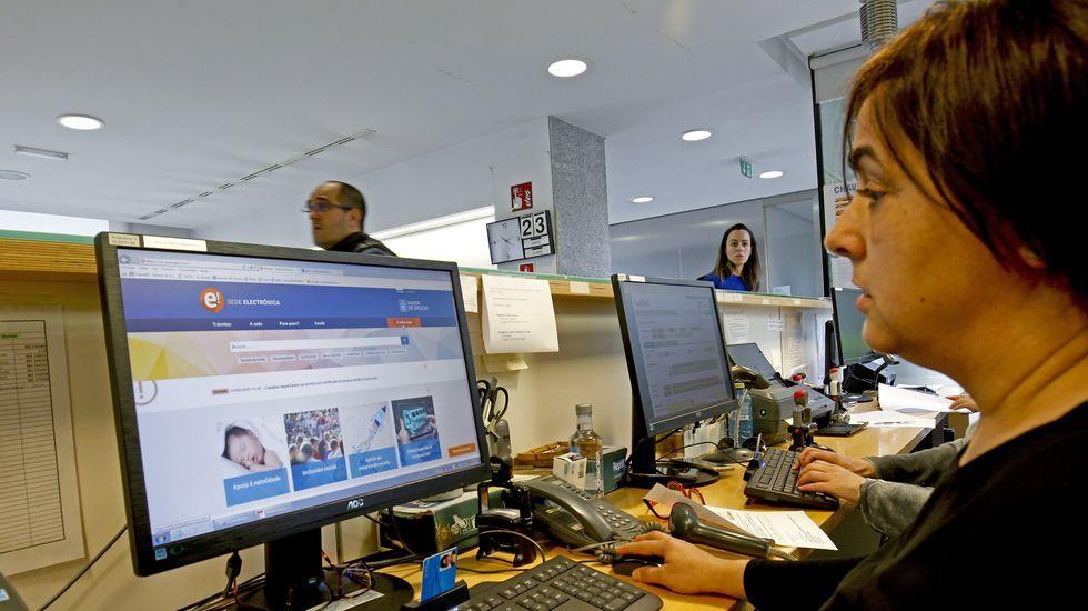 Registro de acceso a la Xunta de Galicia