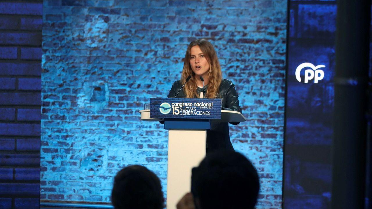 Beatriz Fanjul, presidenta de Nuevas Generaciones del PP