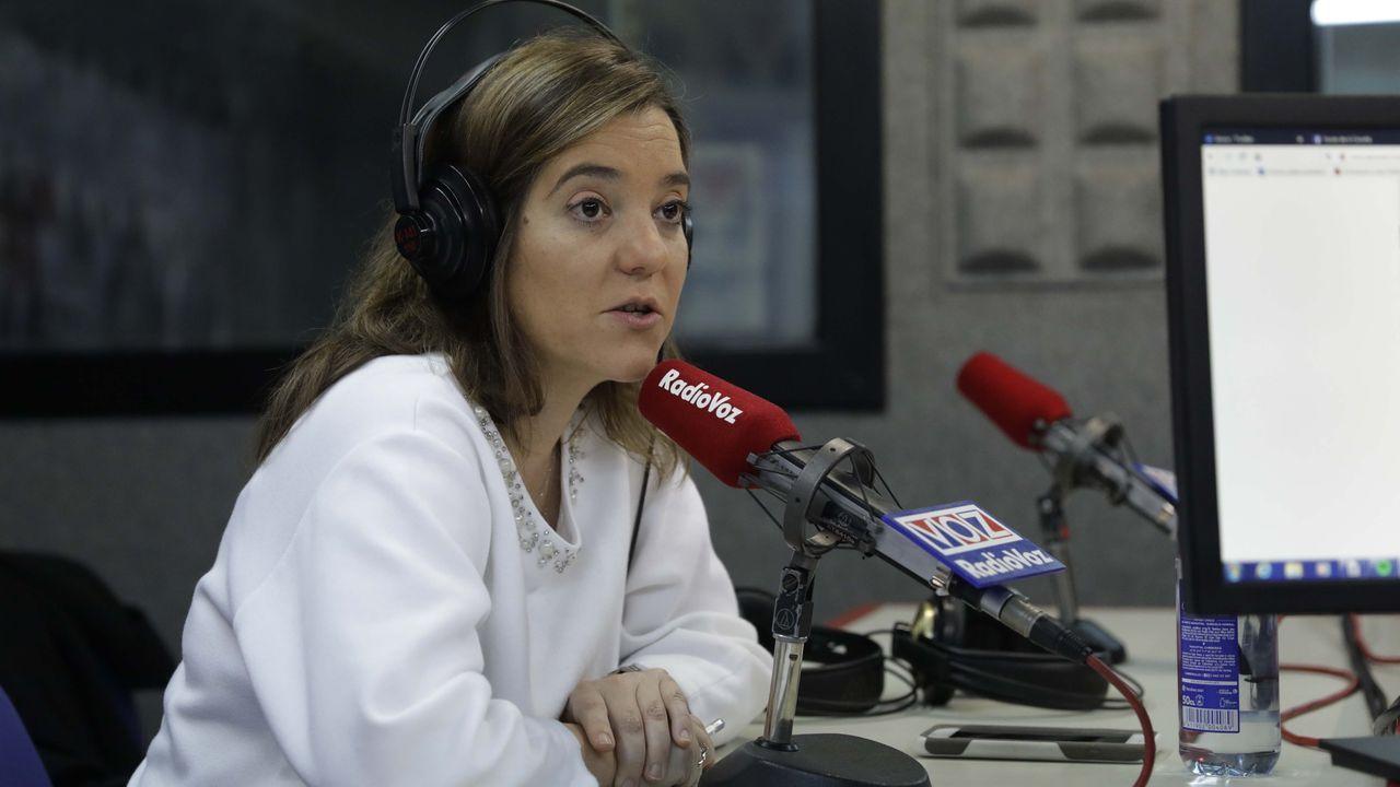 Accidente mortal en el peaje de Guísamo.LA ALCALDESA INÉS REY, EN RADIOVOZ