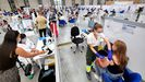 Vacunación contra el covid-19 en el Ifevi de Vigo